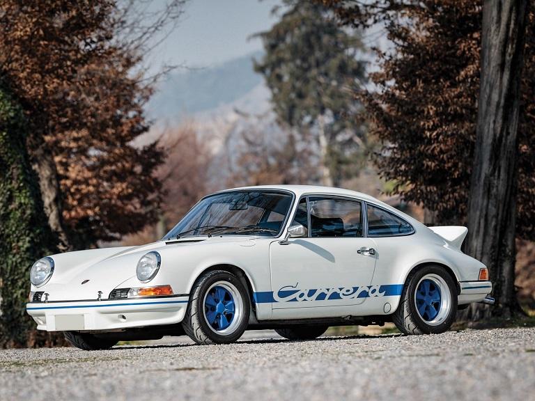 پورشه 911 کارِرا تولید 1973