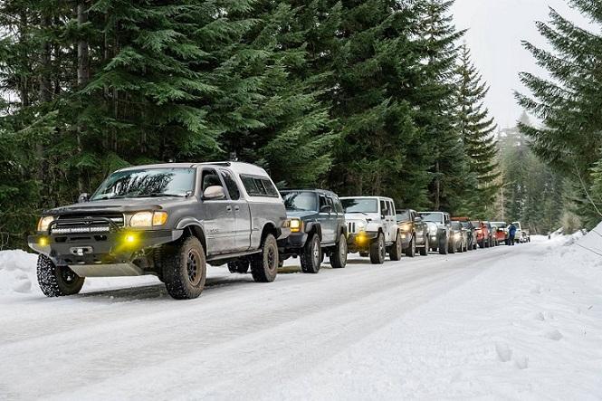 نکات سفر آفرود در برف