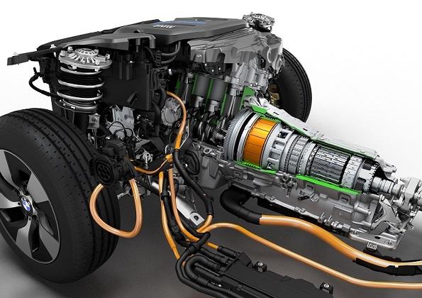 موتور هیبریدی احتراقی