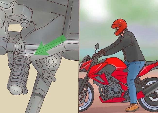 اموزش رانندگی با موتور سیکلت