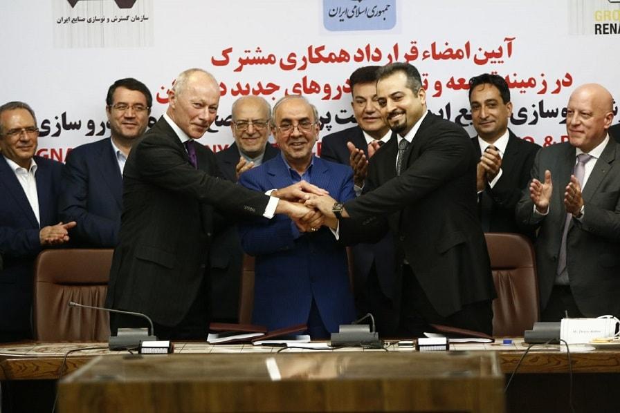 همکاری ایران خودرو و رنو