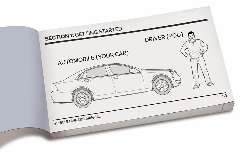دفترچه راهنمای خودرو