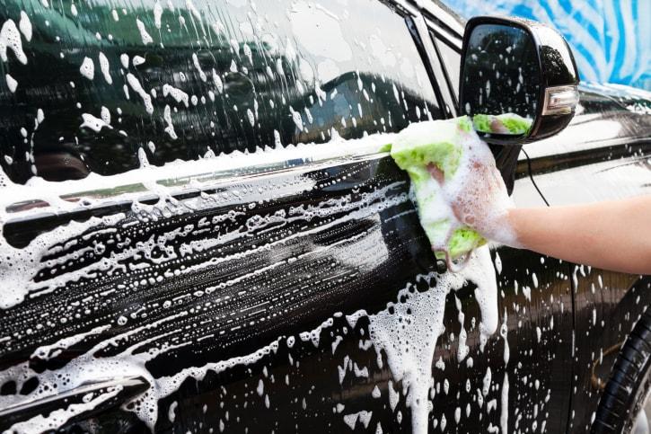 شستن ماشین در منزل