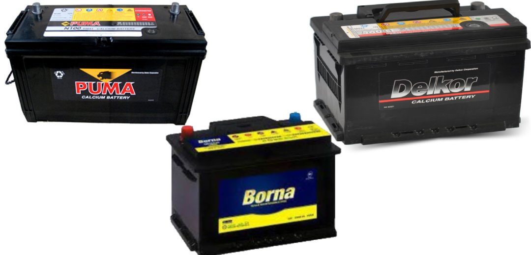 انواع باتری ماشین