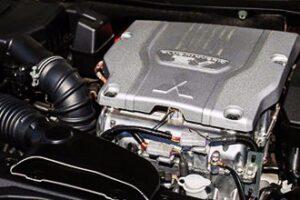 موتور میتسوبیشی اوتلندر پلاگین هیبرید
